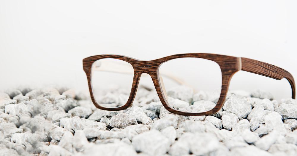 dřevěné brýlové obruby