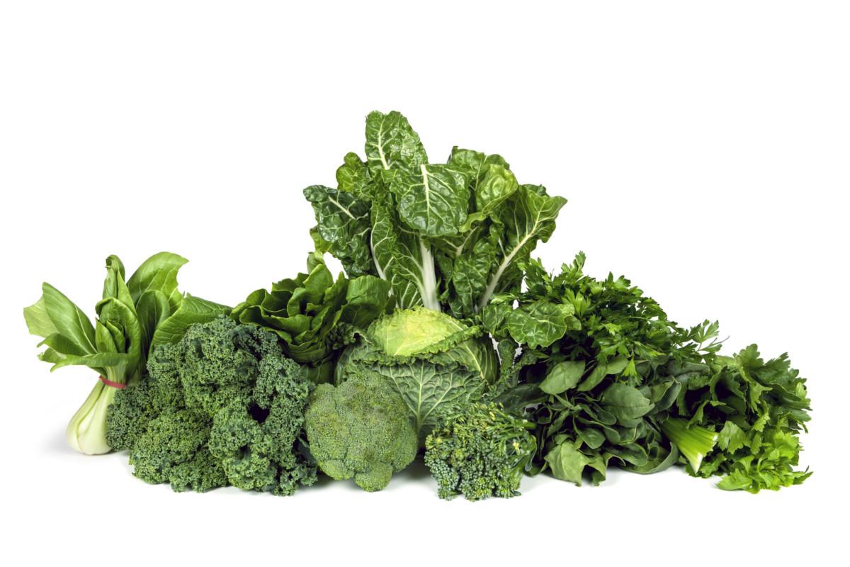listová zelenina je pro oči zdrojem zeaxantinu a luteinu