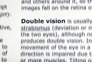 dvojité a rozmazané vidění